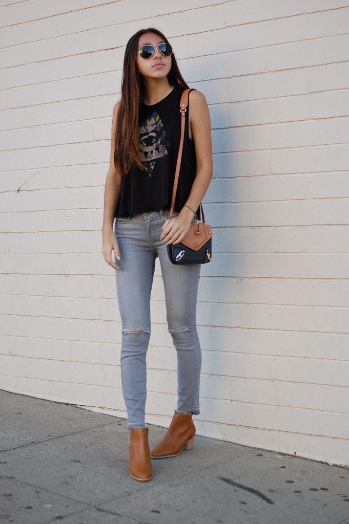 illuminati gray jeans