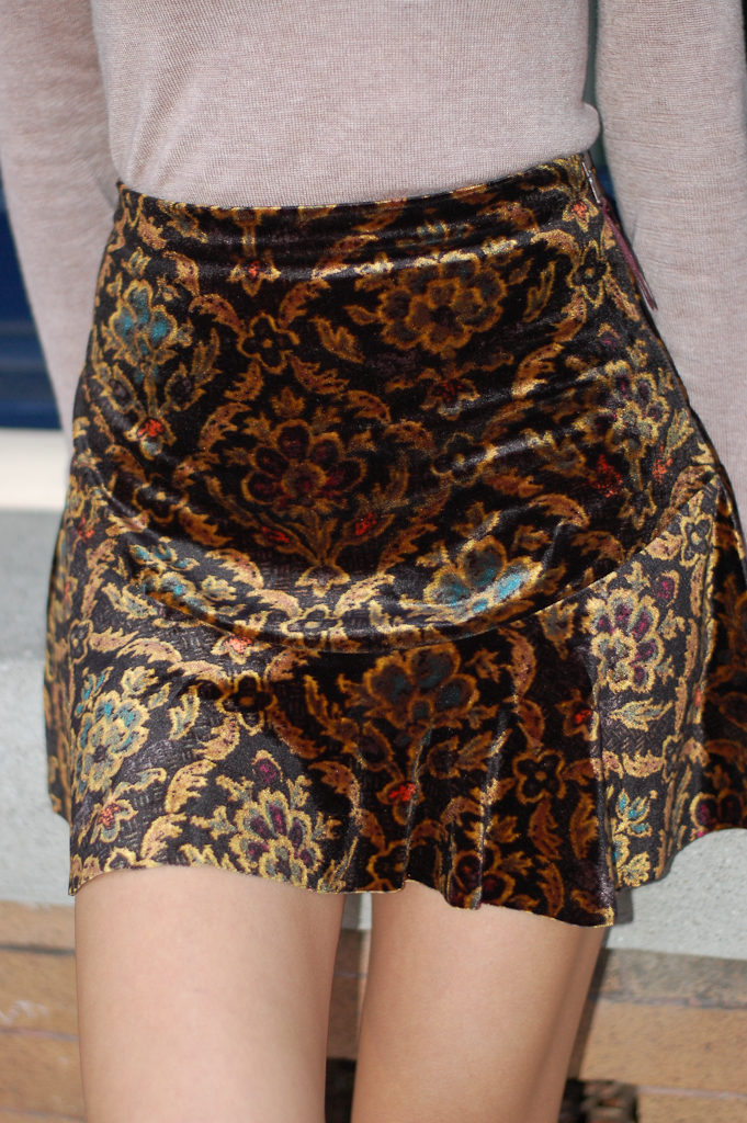 uo skirt front